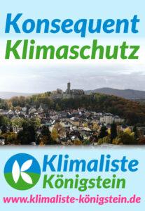 Plakat Klimaliste Königstein